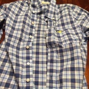 Hollister Shirts - Mens Hollister Long Sleeve Button Down Shirt (S)